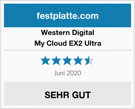 Western Digital My Cloud EX2 Ultra Test