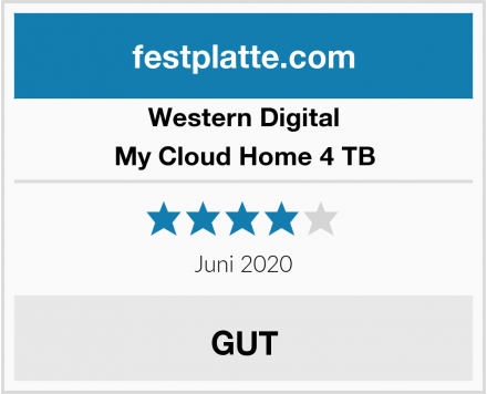 Western Digital My Cloud Home 4 TB Test