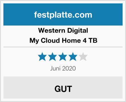 Western Digital My Cloud Home 4 TB Test