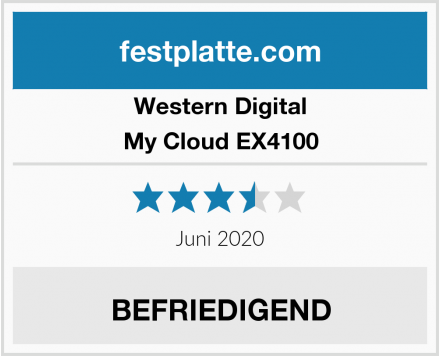 Western Digital My Cloud EX4100 Test