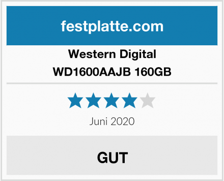 Western Digital WD1600AAJB 160GB Test