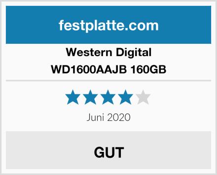 Western Digital WD1600AAJB 160GB Test
