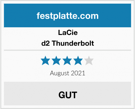 LaCie d2 Thunderbolt Test
