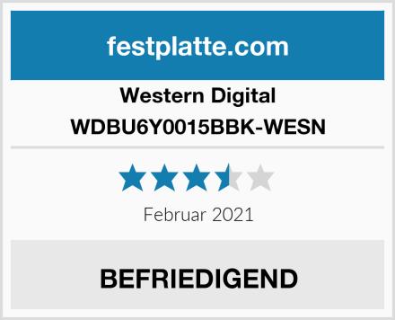 Western Digital WDBU6Y0015BBK-WESN Test