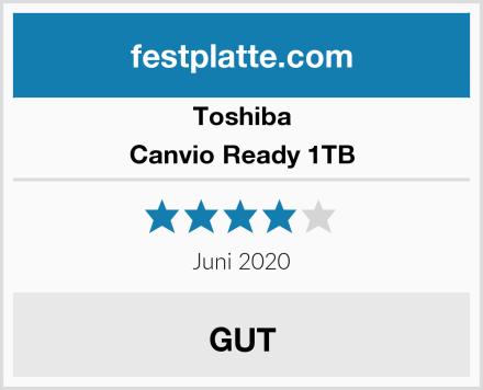 Toshiba Canvio Ready 1TB Test