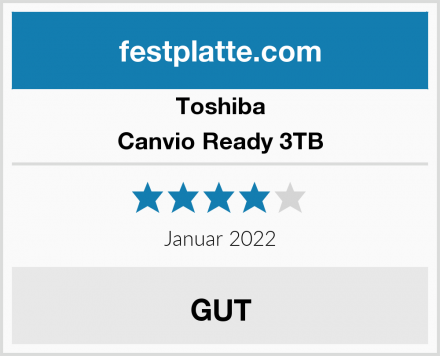Toshiba Canvio Ready 3TB Test