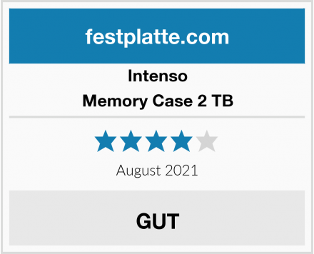 Intenso Memory Case 2 TB Test
