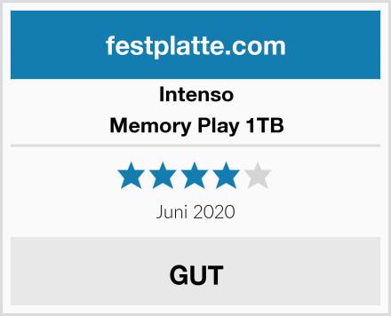 Intenso Memory Play 1TB Test