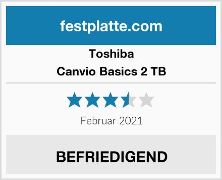 Toshiba Canvio Basics 2 TB Test
