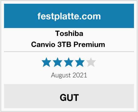 Toshiba Canvio 3TB Premium  Test
