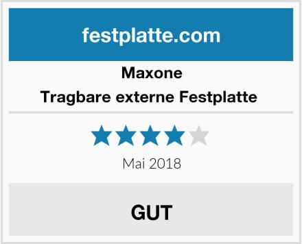 Maxone Tragbare externe Festplatte  Test