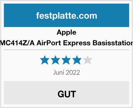 Apple MC414Z/A AirPort Express Basisstation Test