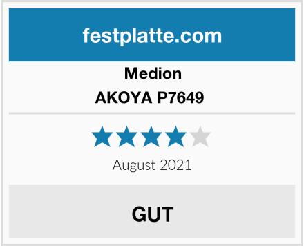Medion AKOYA P7649  Test