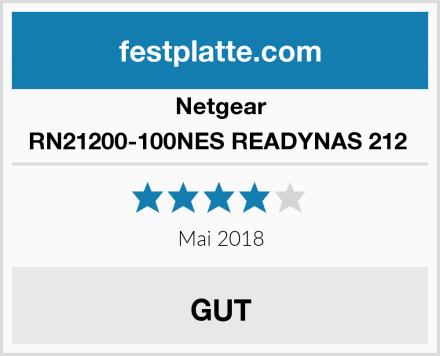 Netgear RN21200-100NES READYNAS 212  Test