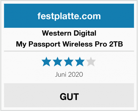 Western Digital My Passport Wireless Pro 2TB Test