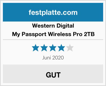 Western Digital My Passport Wireless Pro 2TB Test
