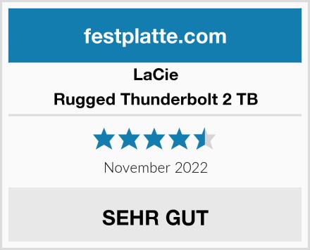 LaCie Rugged Thunderbolt 2 TB Test