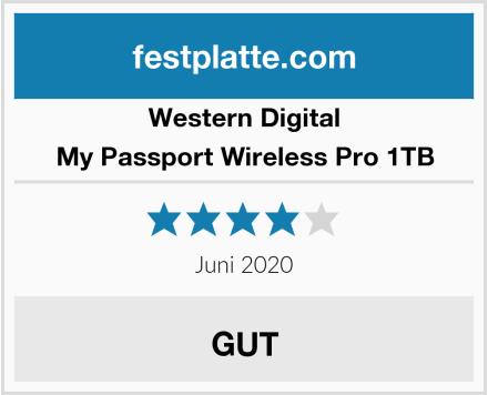 Western Digital My Passport Wireless Pro 1TB Test