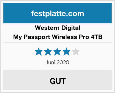 Western Digital My Passport Wireless Pro 4TB Test