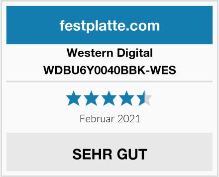 Western Digital WDBU6Y0040BBK-WES Test