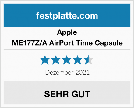 Apple ME177Z/A AirPort Time Capsule Test
