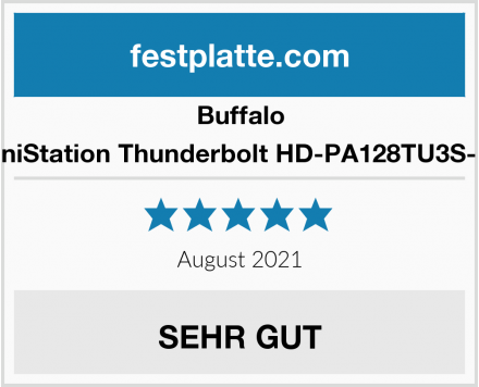 Buffalo MiniStation Thunderbolt HD-PA128TU3S-EU Test