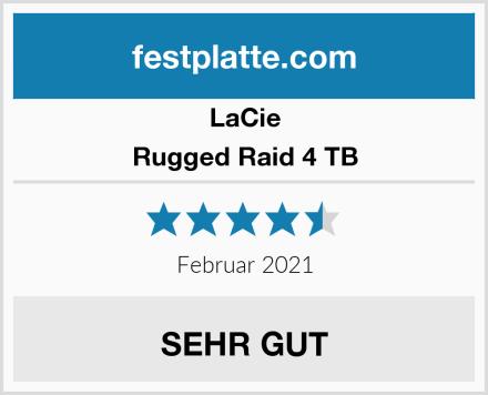 LaCie Rugged Raid 4 TB Test