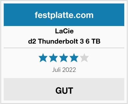 LaCie d2 Thunderbolt 3 6 TB Test