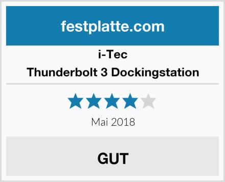 I-Tec Thunderbolt 3 Dockingstation Test