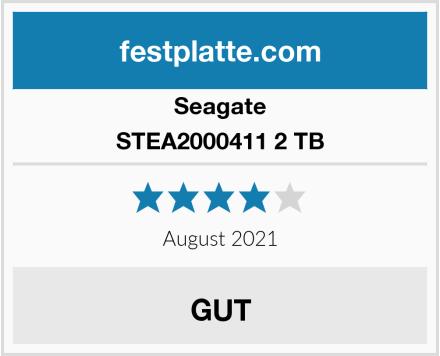 Seagate STEA2000411 2 TB Test