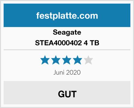 Seagate STEA4000402 4 TB Test