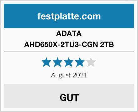 ADATA AHD650X-2TU3-CGN 2TB Test