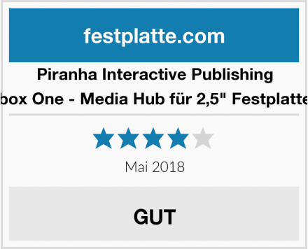 Piranha Interactive Publishing Xbox One - Media Hub für 2,5