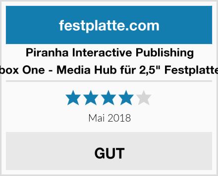 "Piranha Interactive Publishing Xbox One - Media Hub für 2,5"" Festplatten Test"