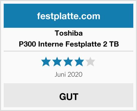 Toshiba P300 Interne Festplatte 2 TB Test