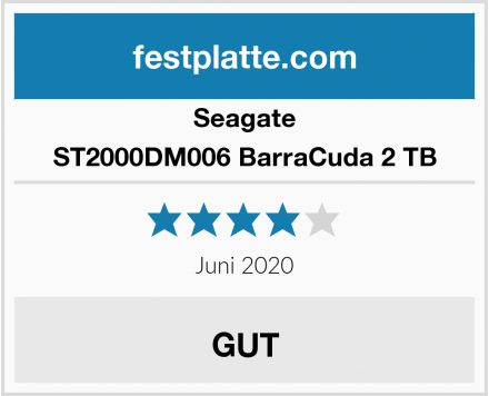 Seagate ST2000DM006 BarraCuda 2 TB Test