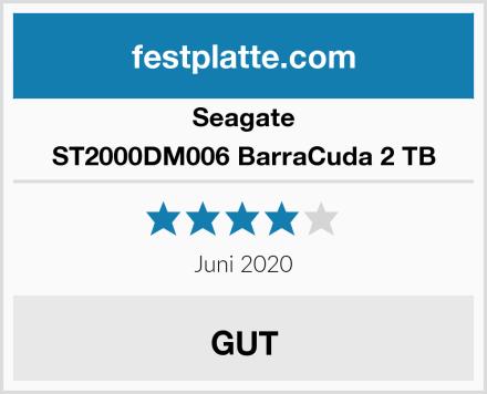 Seagate ST2000DM006 BarraCuda 2 TB Test