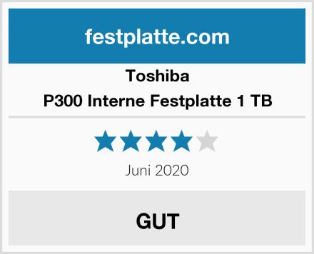 Toshiba P300 Interne Festplatte 1 TB Test