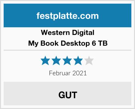 Western Digital My Book Desktop 6 TB Test