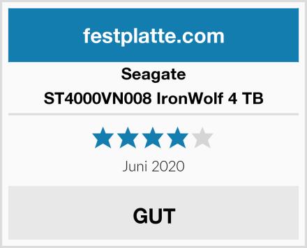 Seagate ST4000VN008 IronWolf 4 TB Test