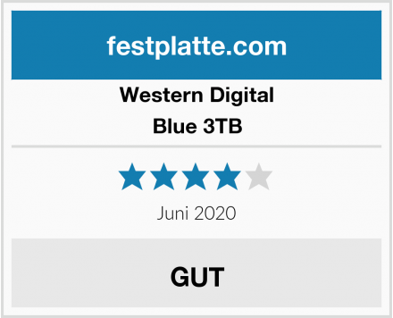 Western Digital Blue 3TB Test