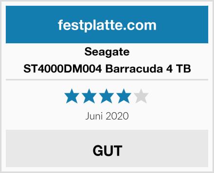 Seagate ST4000DM004 Barracuda 4 TB Test