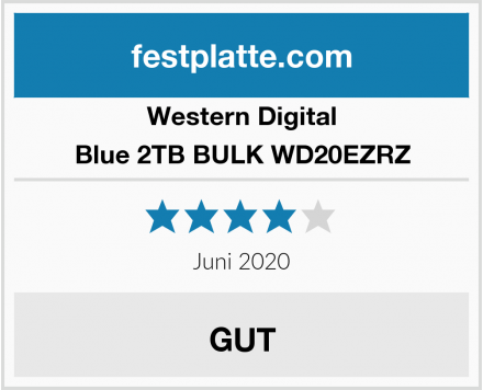Western Digital Blue 2TB BULK WD20EZRZ Test