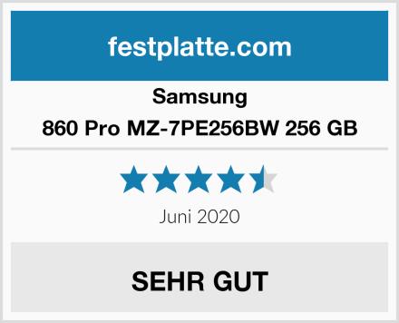 Samsung 860 Pro MZ-7PE256BW 256 GB Test