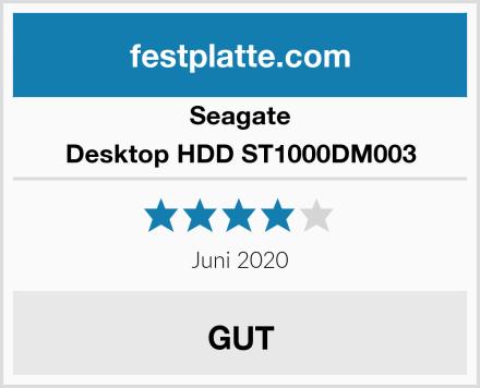 Seagate Desktop HDD ST1000DM003 Test