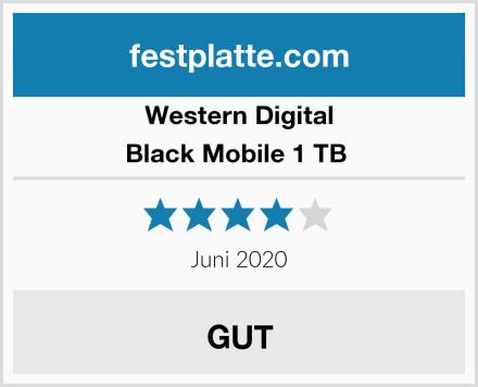 Western Digital Black Mobile 1 TB  Test