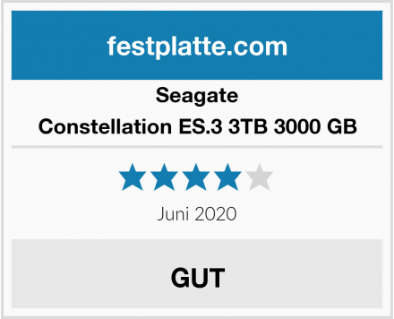 Seagate Constellation ES.3 3TB 3000 GB Test