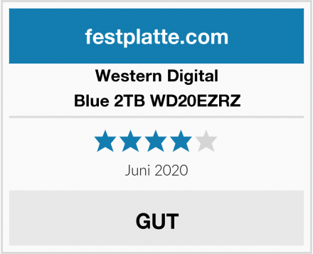 Western Digital Blue 2TB WD20EZRZ Test
