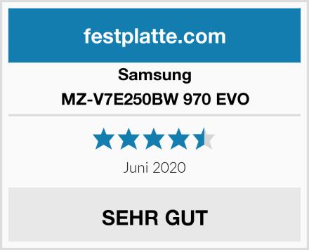 Samsung MZ-V7E250BW 970 EVO Test