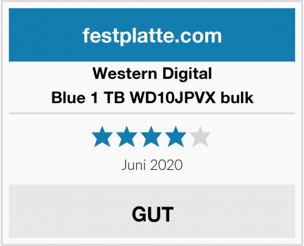 Western Digital Blue 1 TB WD10JPVX bulk Test